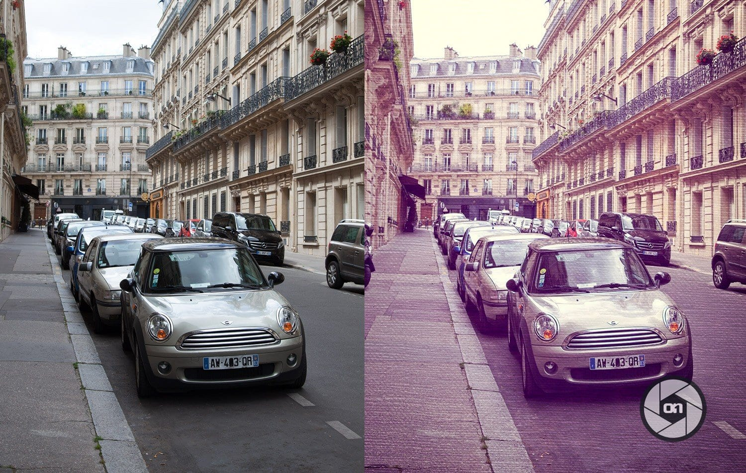Free-On1-Preset-Painted-Paris-Before-and-After