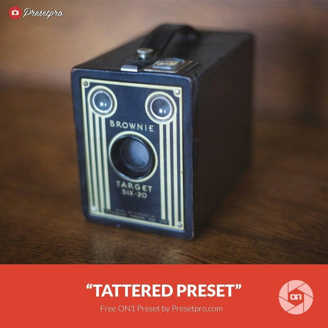 Free On1 Preset Tattered