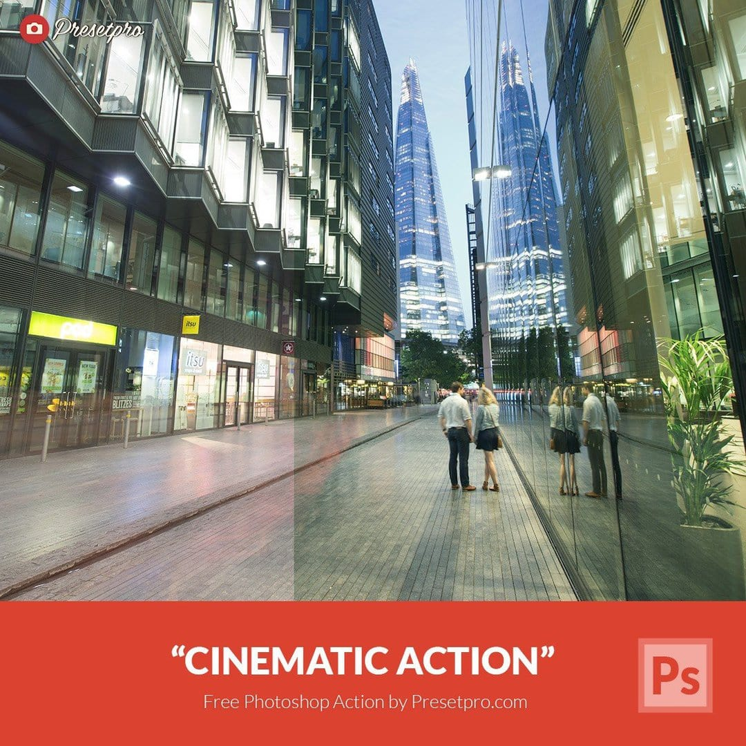 Free Photoshop Action Cinematic - Download Now!