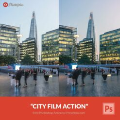 Free-Photoshop-Action-City-Film