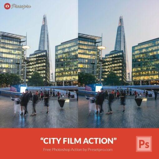Free-Photoshop-Action-City-Film