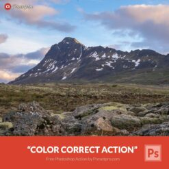 Free-Photoshop-Action-Color-Correct