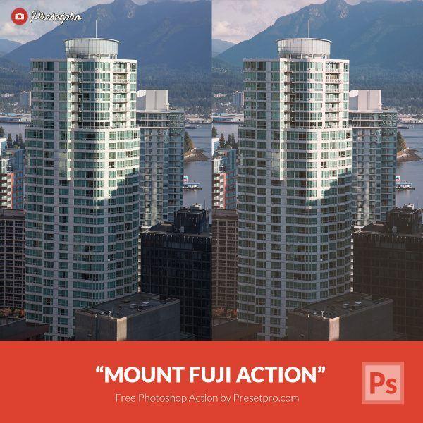 Free-Photoshop-Action-Mount-Fuji