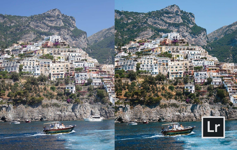 Free-Lightroom-Preset-Amalfi-Coast-Before-and-After