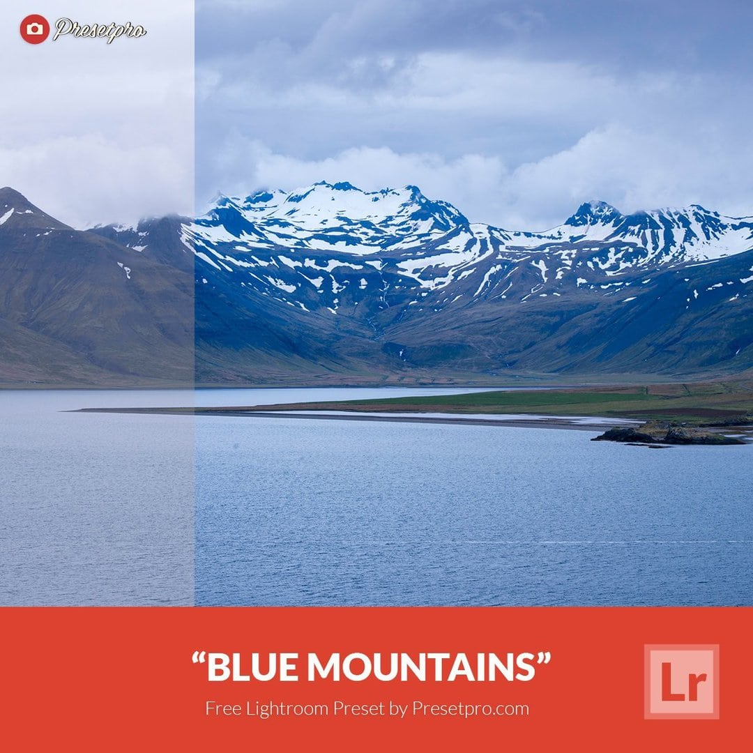 Free Lightroom Preset Blue Mountains - Download Now!