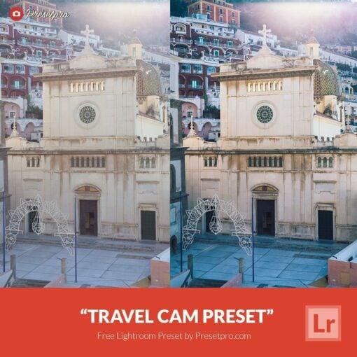 "Free-Lightroom Preset ""Travel Cam"""