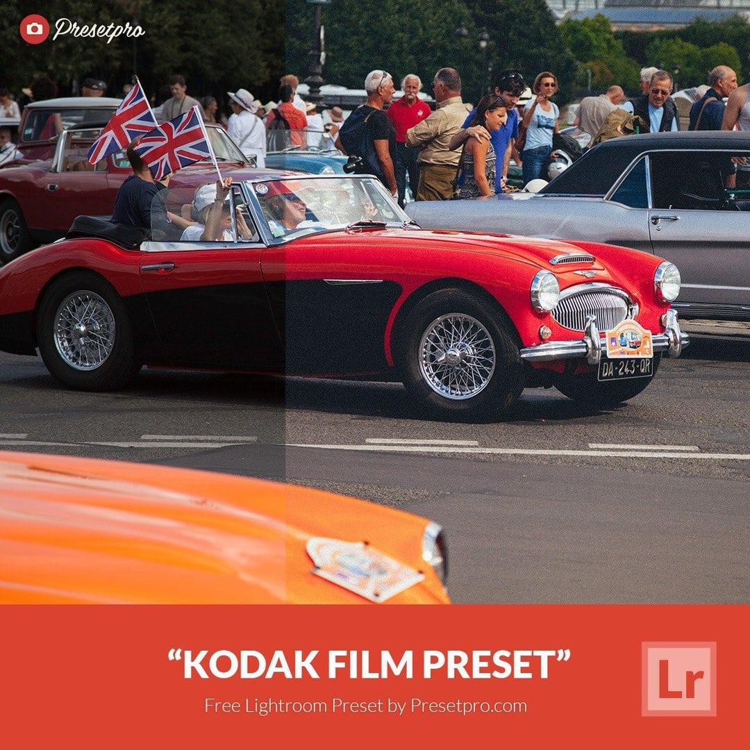 Free Lightroom Preset | Kodak Film - Presetpro com