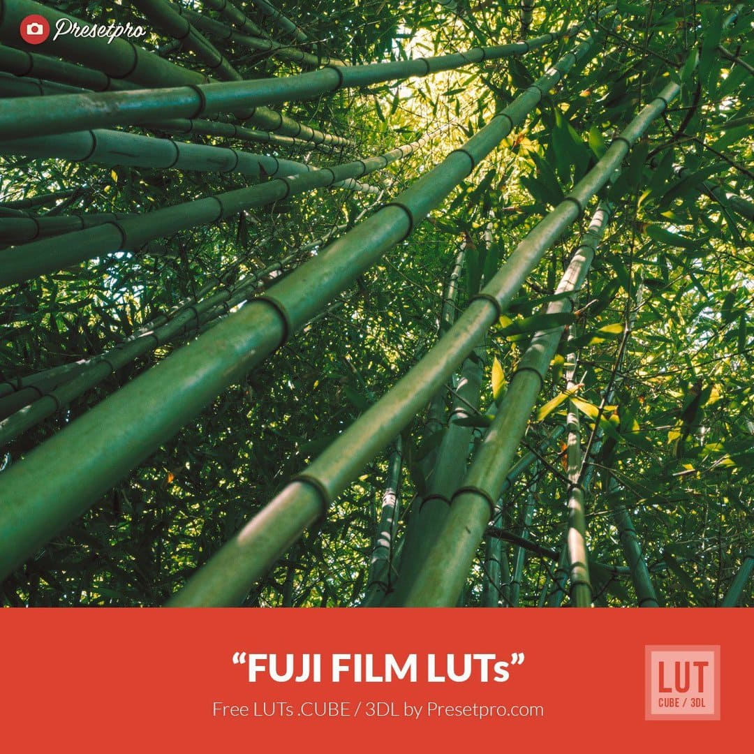 Free Luts Fuji Film Color Grading For Filmmakers And Photographers