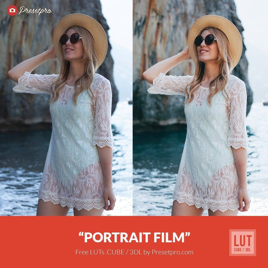 Free Luts Portrait Film Color Grading For Filmmakers And Photographers