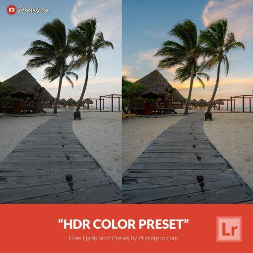 Free-Lightroom-Preset-HDR-Color-Presetpro.com