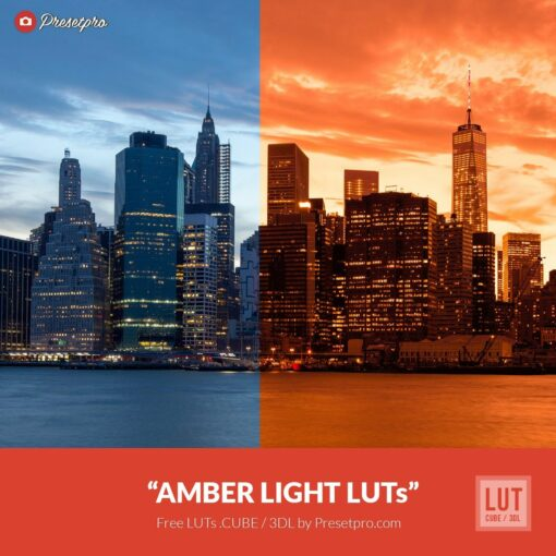 Free-Color-Lookup-Table-Amber-Light-LUTs-CUBE-3DL-Presetpro.com