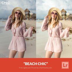 Free Lightroom Preset Beach Chic Presetpro and ChicPresets