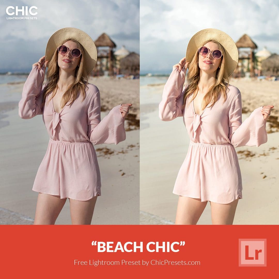 Free Lightroom Preset | Beach Chic - Download Now!