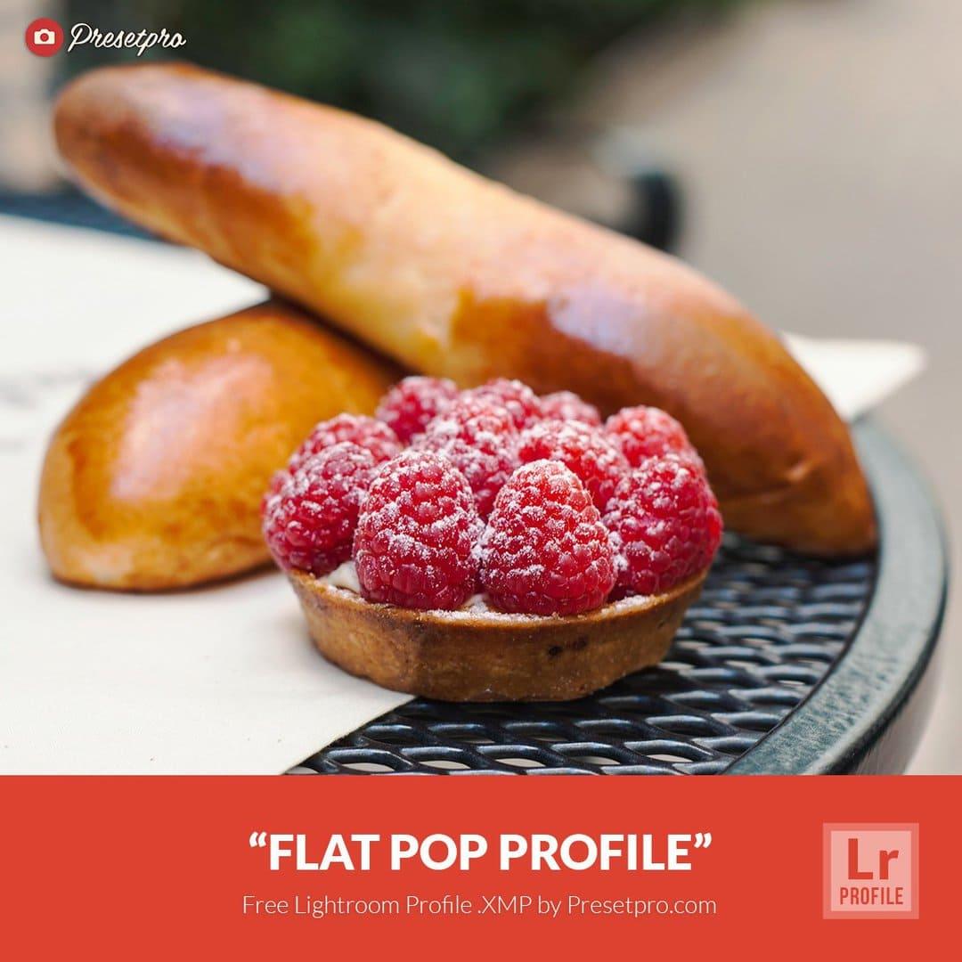 Free Lightroom Profiles Flat Pop  XMP Download - Presetpro com