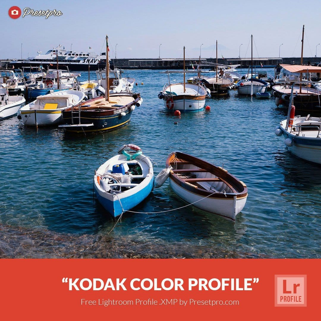 Free Lightroom Profiles Kodak Color  XMP Download - Presetpro com