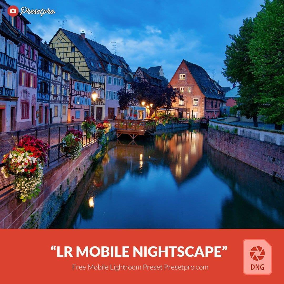 Free Mobile DNG Preset for Lightroom   Nightscape