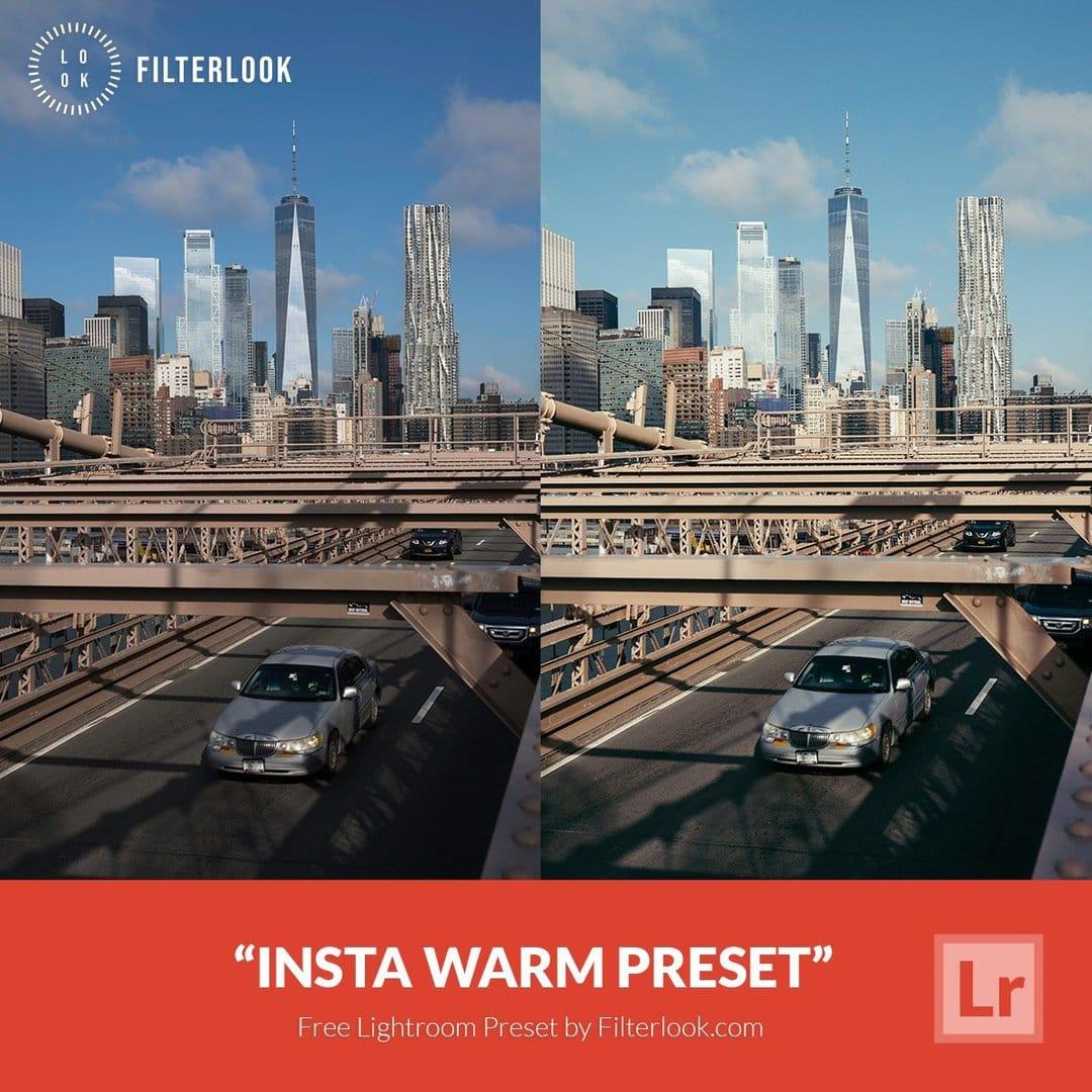 Free Lightroom Preset   Insta Warm - Presetpro com