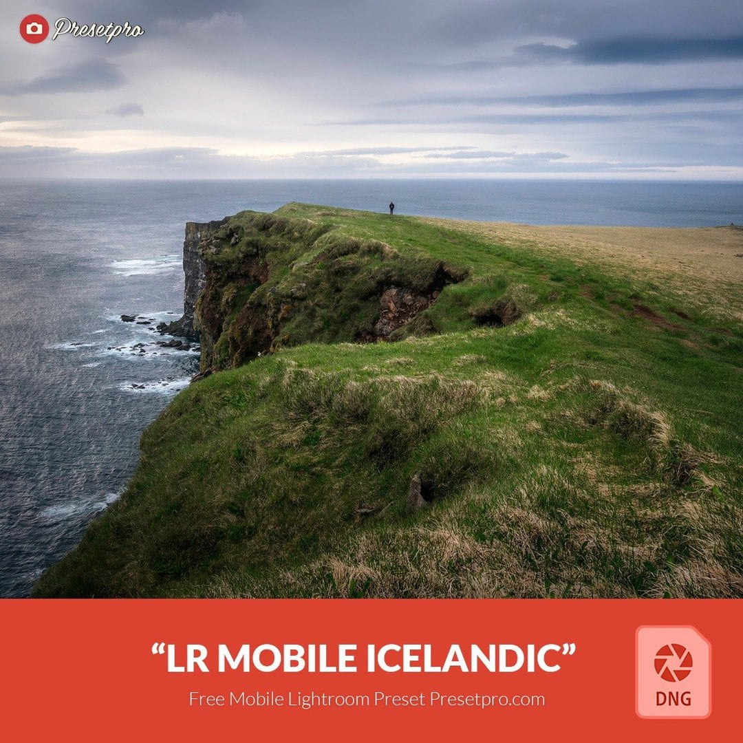 Free Mobile DNG Preset for Lightroom | Icelandic - Presetpro com