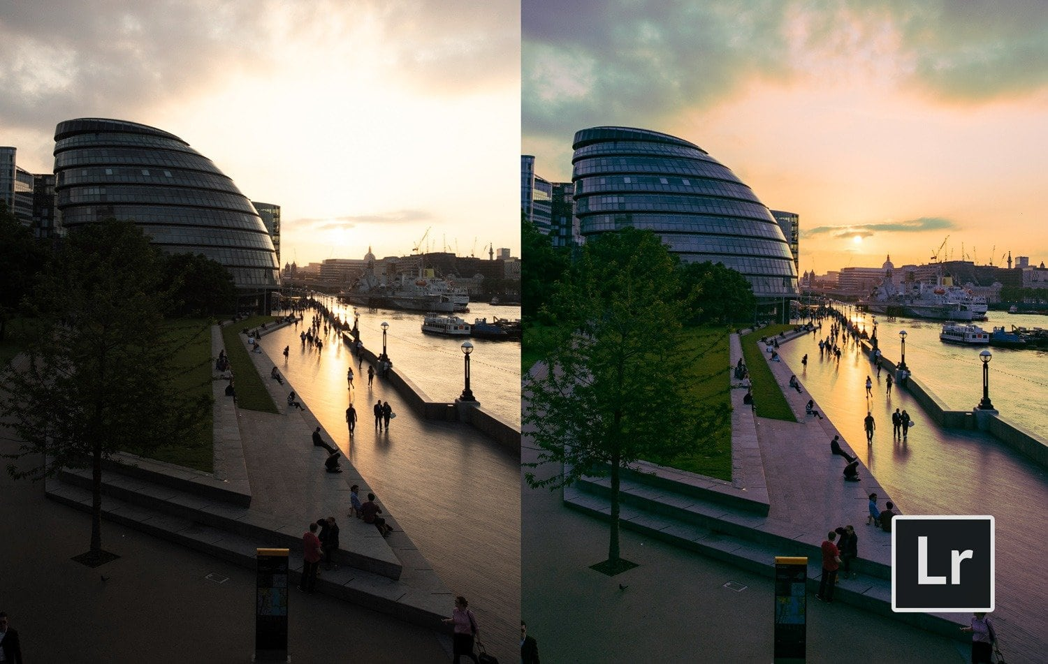 Free-Lightroom-Preset-Cool-Sunset-Before-and-After-Presetpro.com