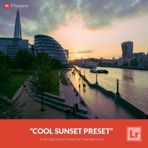 Free-Lightroom-Preset-Cool-Sunset-Presetpro.com