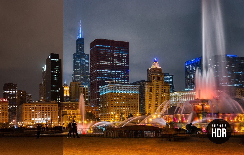 Free Aurora HDR Looks Chicago Preset Presetpro.com