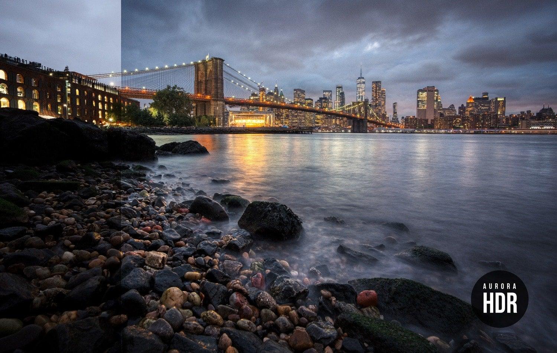 Free Aurora HDR Look East River Preset Presetpro.com