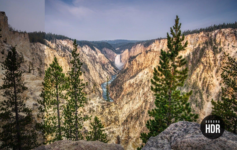 Free Aurora HDR Look Yellowstone Preset Presetpro.com