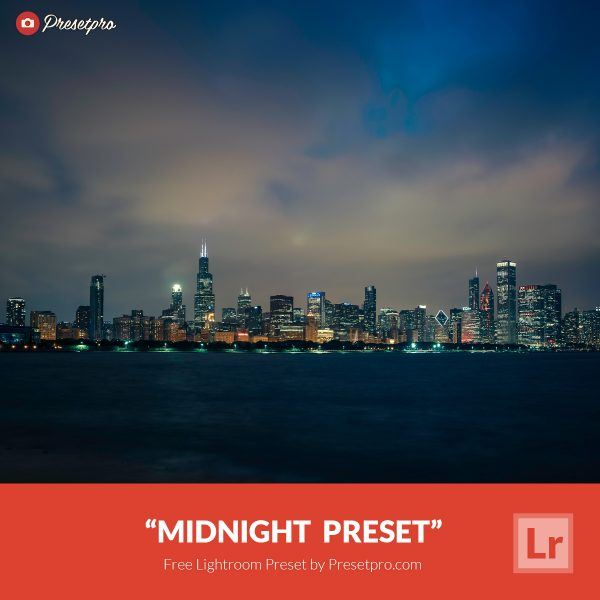 Free Lightroom Preset Midnight Presetpro.com