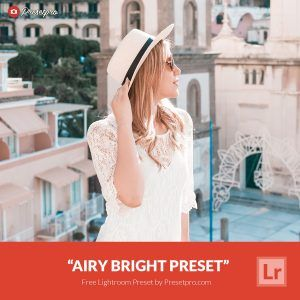 Free Light, Bright and Airy Preset for Lightroom - Airy Bright