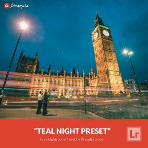Free-Lightroom-Preset-Teal-Night-Presetpro.com