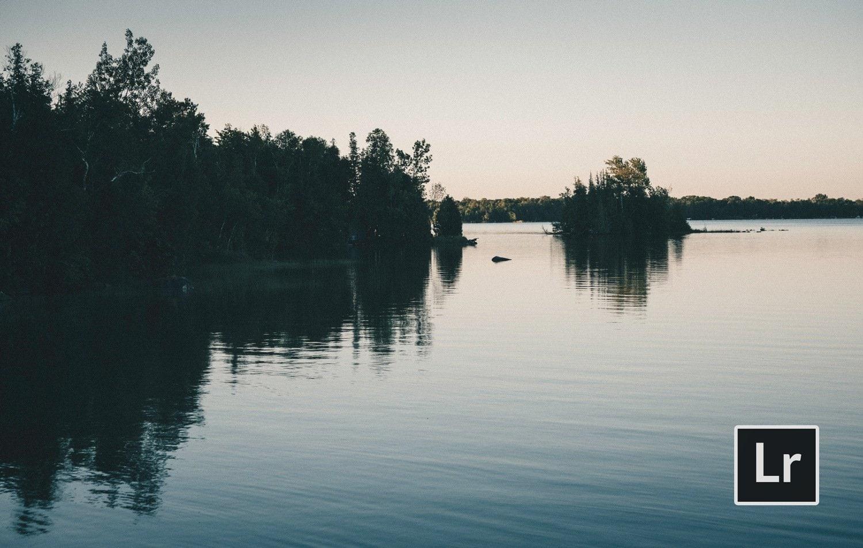 Free-Lightroom-Preset-Misty-Lake-Before-and-After-Video-Presetpro.com