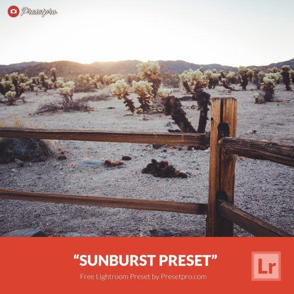 Free-Lightroom-Preset-Sunburst-Preset-Presetpro.com