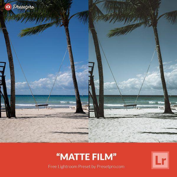 Free-Lightroom-Preset-Matte-Film-Presetpro