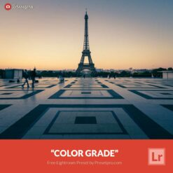 Free Lightroom Preset | Color Grade Presetpro.com