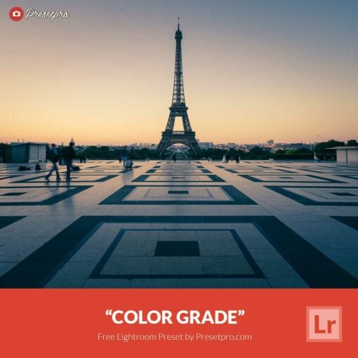 Free Lightroom Preset   Color Grade Presetpro.com