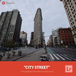 Free Lightroom Preset   City Street