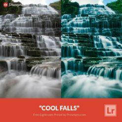 Free Lightroom Preset | Cool Falls - Presetpro.com