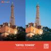 Free Lightroom Preset | Eiffel Tower