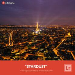 Free Lightroom Preset | Stardust