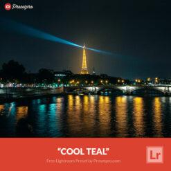 Free Lightroom Preset   Cool Teal Presetpro.com