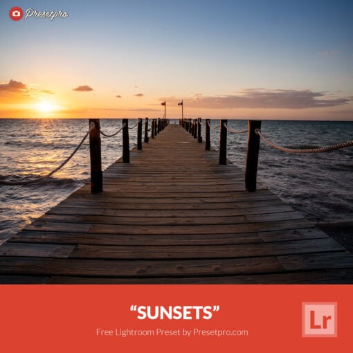 Free Lightroom Preset   Sunsets
