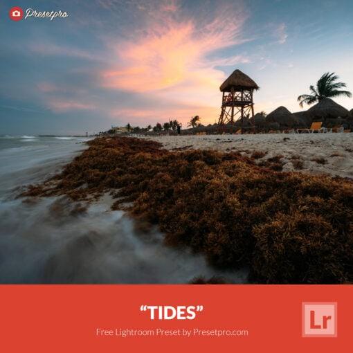 Free Lightroom Preset | Tides - Presetpro.com