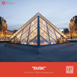 "Free LUT Lookup Table ""Dusk"" Presetpro.com"