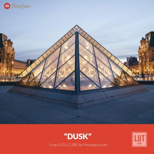"Free LUT Lookup Table ""Dusk"" Presetpro.com"