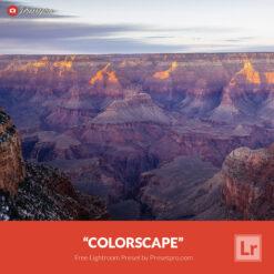 Free Lightroom Preset   Colorscape