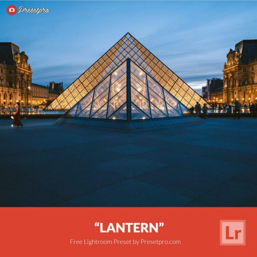 Free Lightroom Preset   Lantern