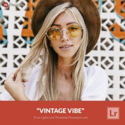 Free Lightroom Preset and Profile | Vintage Vibe Presetpro.com