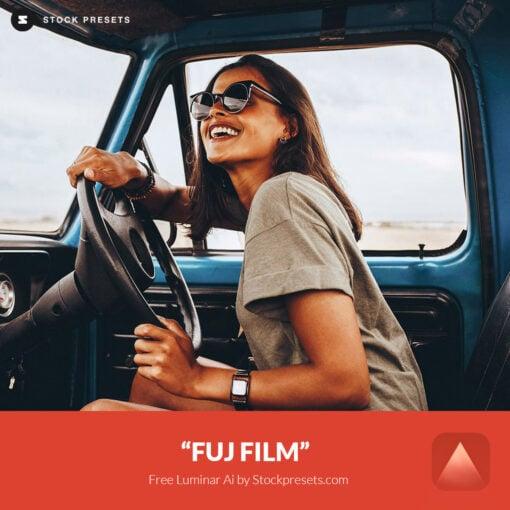 Free Luminar Ai FUJ Film Preset Stockpresets.com