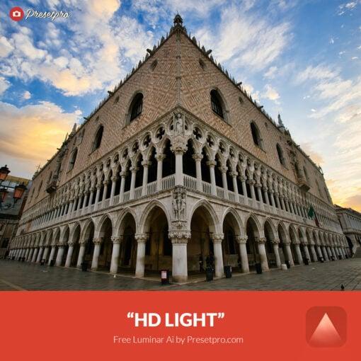 Free Luminar Ai Template HD Light Preset Presetpro.com
