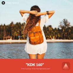 Free Luminar Look KDK 160 Preset Stockpresets.com